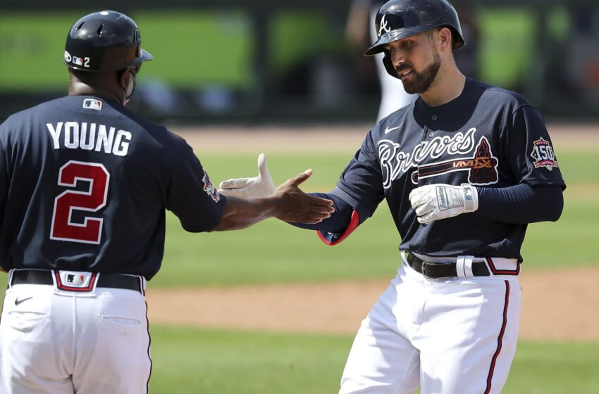 Thumb hurt slows Inciarte's fight with Pache in Braves OF