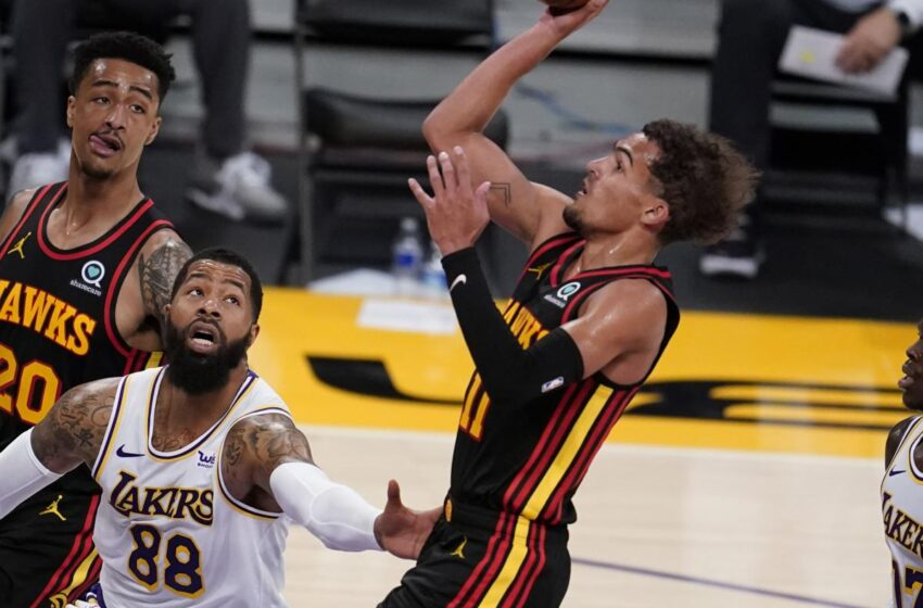 Lakers' Markieff Morris Says Hawks Sport 'Used to be a Trap' After LeBron James' Injure