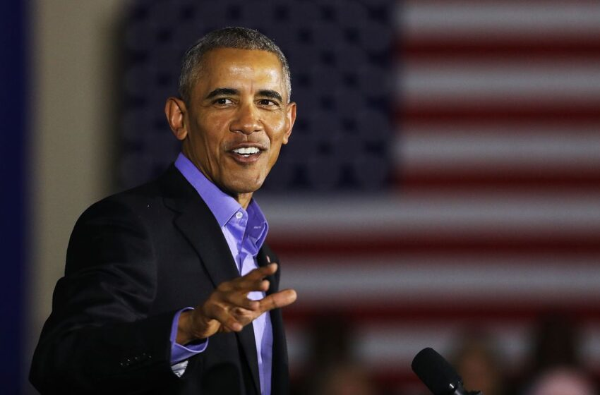 """Obama applauds MLB for """"taking a stand"""" against Georgia's balloting restrictions"""