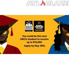 McDonald's Black & Positively Golden Scholarship Program is Championing Black Excellence by Awarding $500,000 in Scholarships to HBCU College students in Partnership with the Thurgood Marshall College Fund