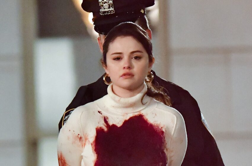 Selena Gomez Is Handcuffed and Covered in Fraudulent Blood on the Location of Her Contemporary Expose