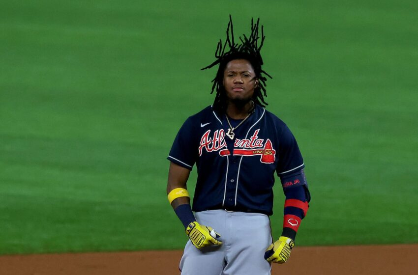 Ronald Acuña making an strive to beat the Marlins by himself has Braves followers on cloud 9