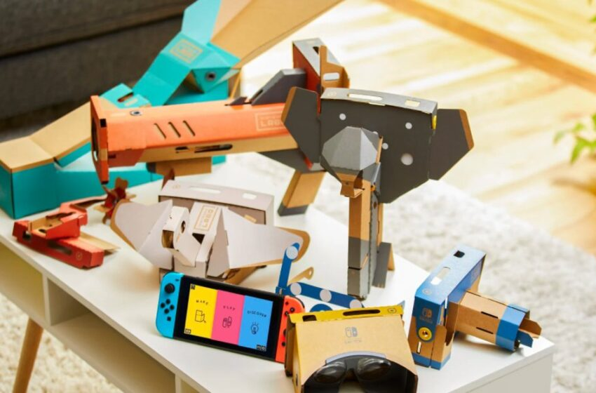 It Appears to be like Admire Labo Is Being Set To Leisure As Nintendo Takes Down The Website