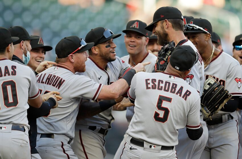 Arizona Diamondbacks to personal a neutral correct time Madison Bumgarner's 'no-hitter that wasn't' with tag deal