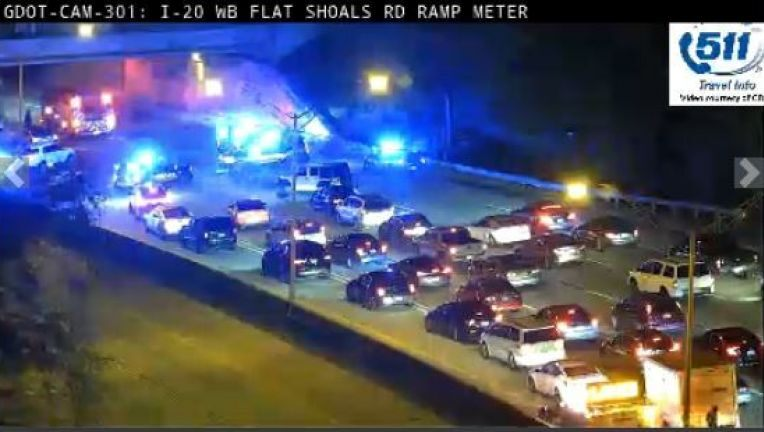 Police: Homeless pedestrian hit by vehicle on I-20