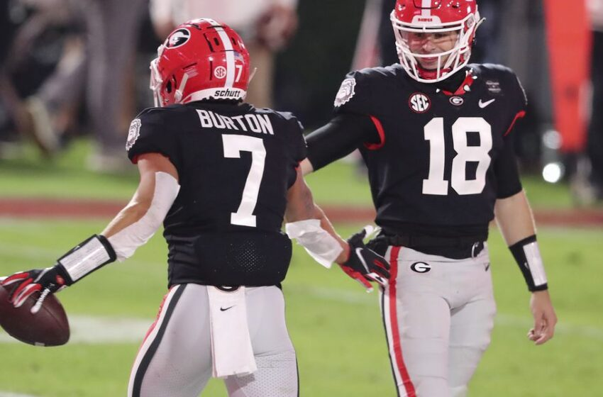 Georgia's search for dynamic receivers intensifies