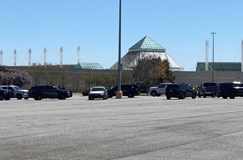 Shoppers return to North Point Mall after bomb threat prompts evacuation