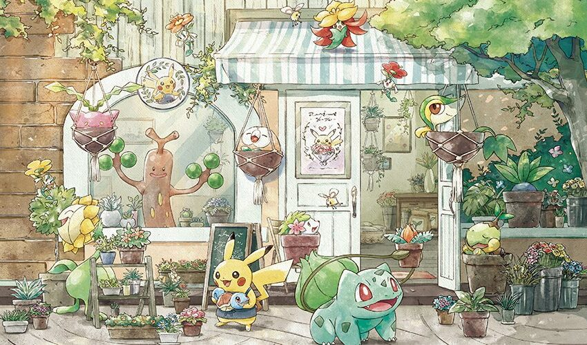 This Incredibly Adorable 'Pokémon Grassy Gardening' Sequence Combines Pokémon And Horticulture