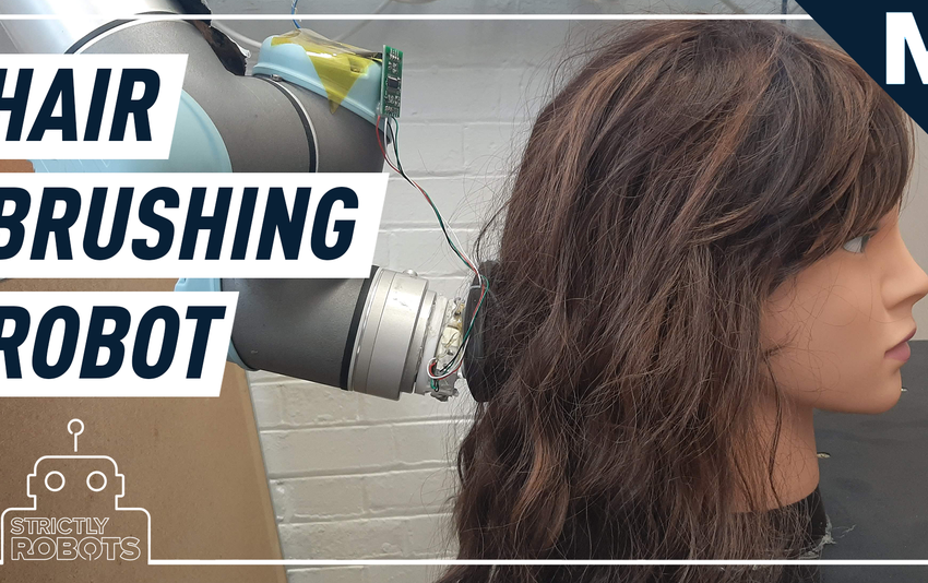 Researchers made a hair-brushing robot on myth of why no longer? — Strictly Robots