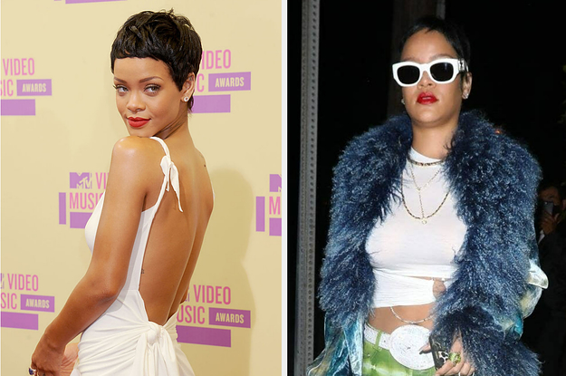 Rihanna Proved That She's Still The Queen Of Sort When She Introduced Abet One Of Her Most Iconic Hairstyles Of All Time