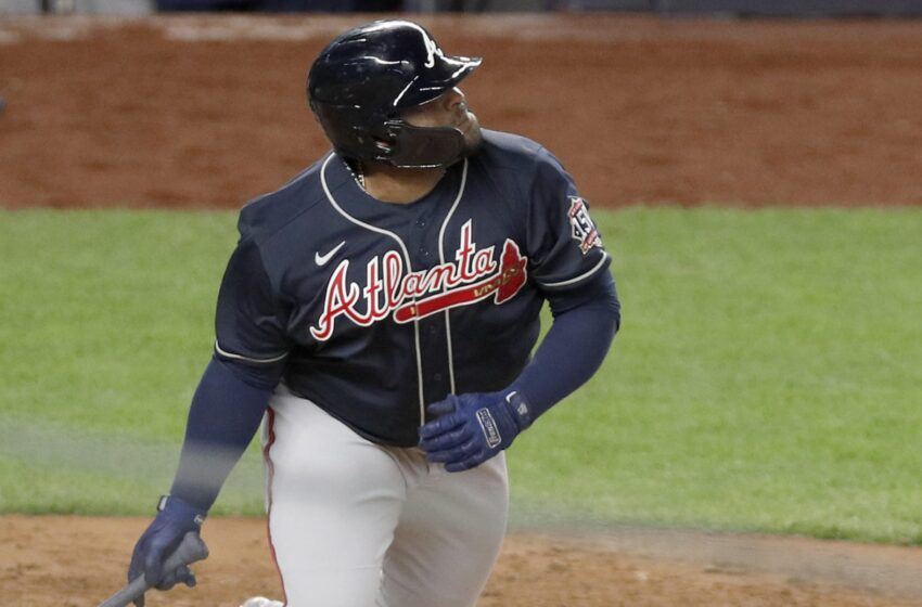 Pablo Sandoval cranks sport-tying, 2-toddle bomb on Braves' last out (Video)