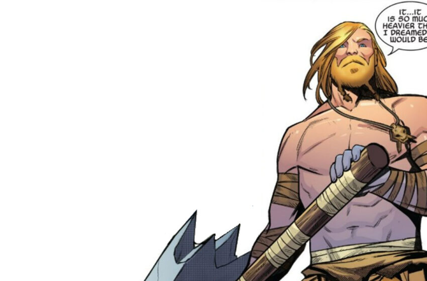Marvel makes surprise swap for its subsequent Thor artist
