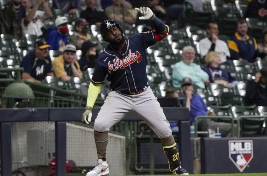 Ozuna, Albies plod support-to-support as Braves beat Brewers 6-3