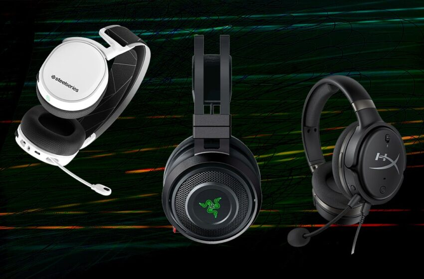 The High Wired and Wi-fi Gaming Headsets