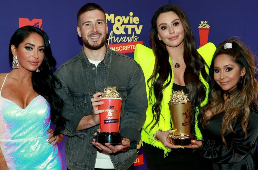 Jersey Shore: Household Vacation Wins At First-Ever MTV Movie & TV Awards: Unscripted
