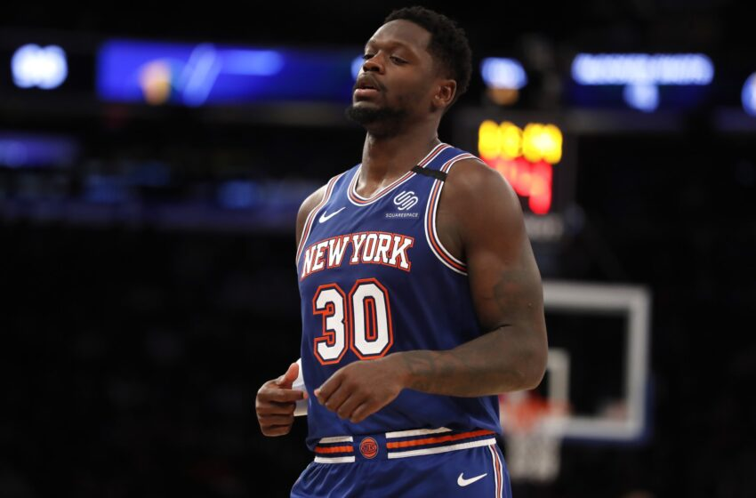 Julius Randle had the suitable reaction to Knicks Sport 1 loss to Hawks