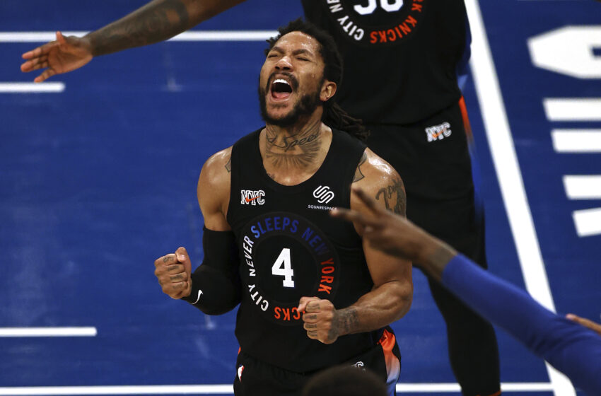 Derrick Rose After Knicks' Sport 2 Remove: 'I've Been Dreaming About This 2nd'