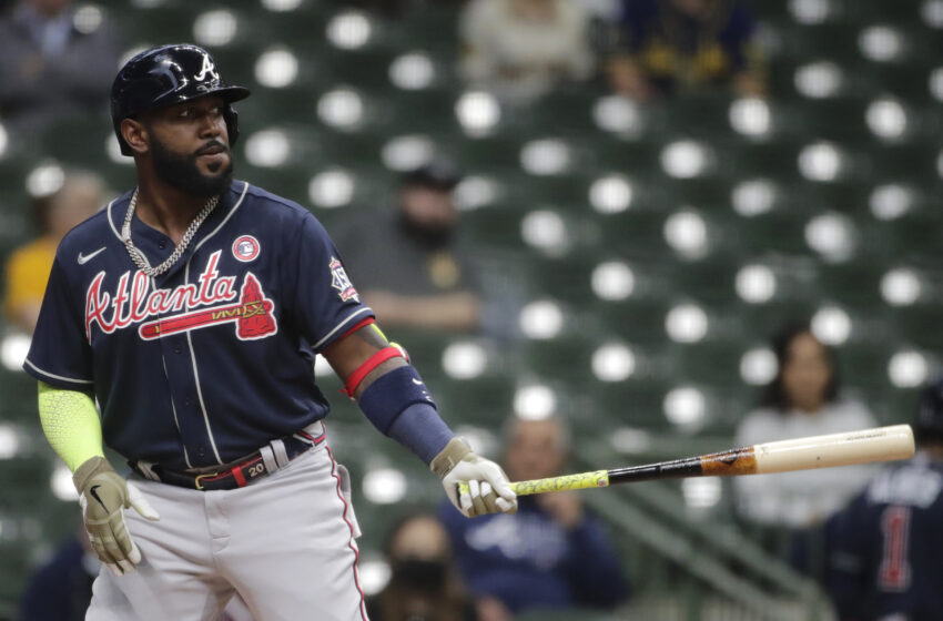 Braves' Marcell Ozuna Arrested on Aggravated Assault, Misdemeanor Battery Costs