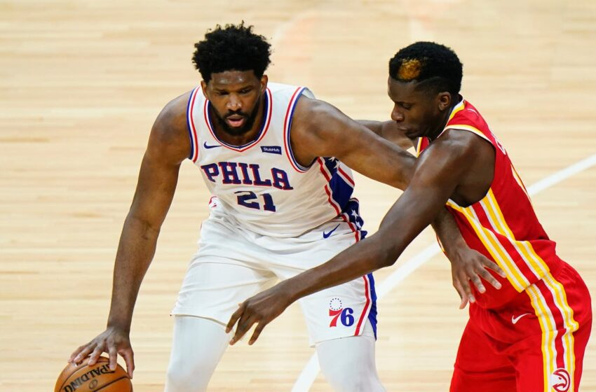 Joel Embiid is the tall unknown in Philadelphia 76ers' playoff assortment with Atlanta Hawks