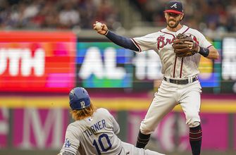 Braves overcome four-error defensive efficiency to defeat Dodgers, 6-4