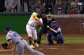 Braves prolong lead over Dodgers to 6-4 thanks to Abraham Almonte's pinch-hit solo homer
