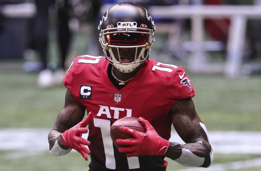 Atlanta Falcons shopping and selling WR Julio Jones to Tennessee Titans