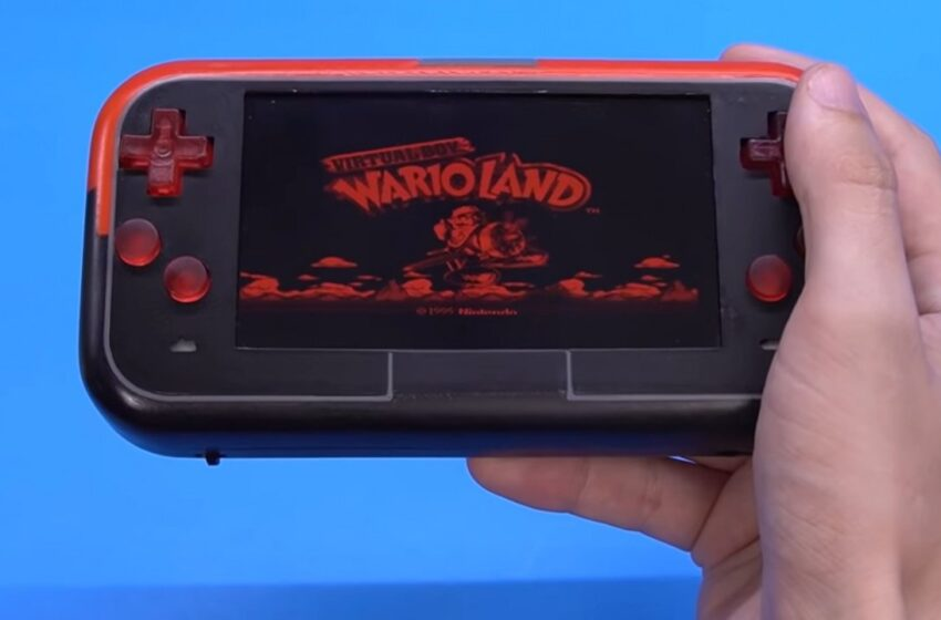 Random: Hunch, Someone's Made A Handheld Virtual Boy With Light Up Buttons