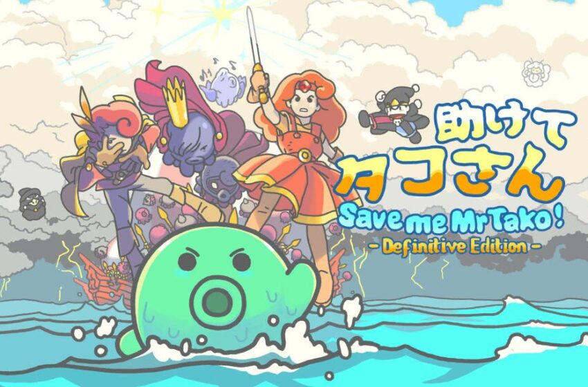 Contest: Grasp a copy of Keep me Mr Tako: Definitive Edition for Swap or Steam