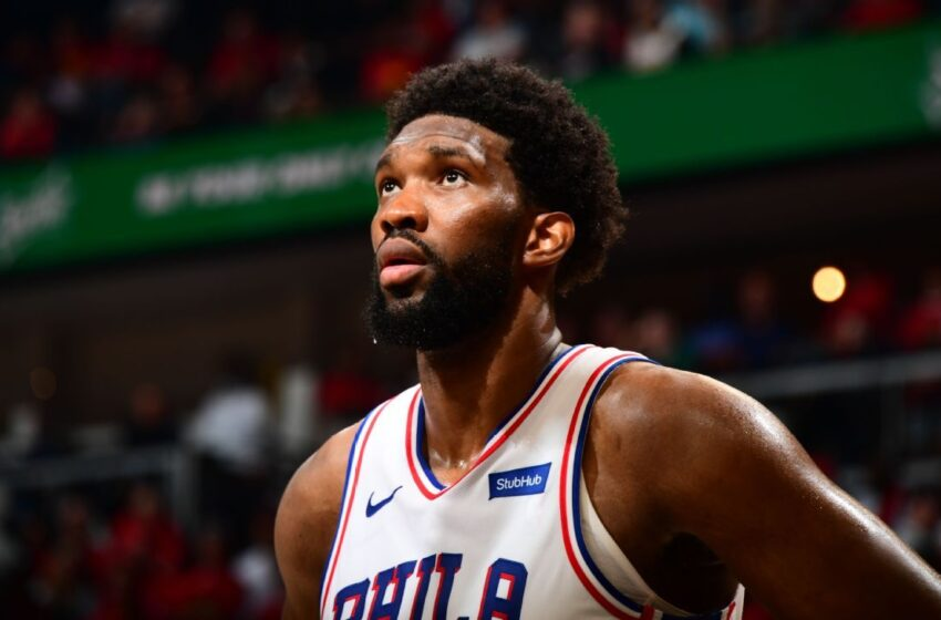 Troubled by ailing knee, Philadelphia 76ers' Joel Embiid fades in 2nd half as Atlanta Hawks rally to tie sequence