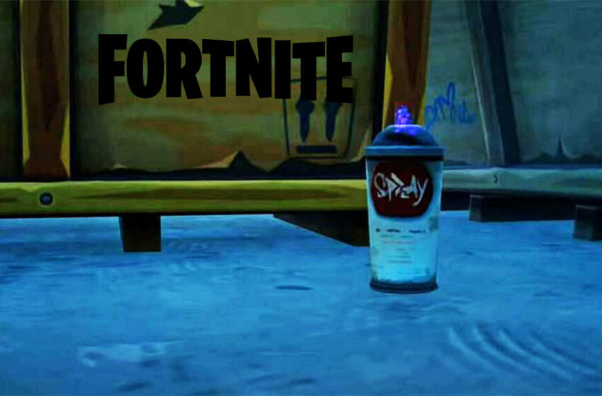 Fortnite Spray Can locations at Dirty Docks and Swish Park