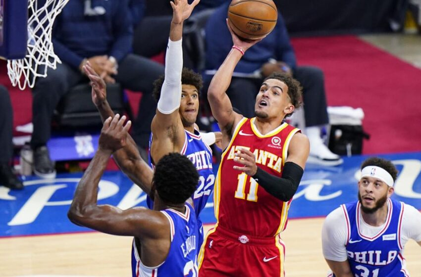 Hawks rally from 26 facets down, stun 76ers in Recreation 5