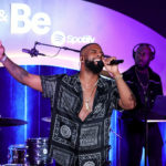 Look Dvsn Duvet Usher's 'Nice & Leisurely' (In Entrance of a Crowd!) At Intimate Spotify Celebration