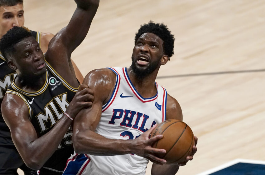 Joel Embiid, Seth Curry Abet 76ers Power Recreation 7 vs. Trae Younger, Hawks