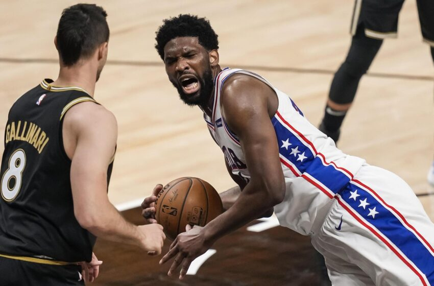 Joel Embiid, Seth Curry explicit frustration with officiating after decide