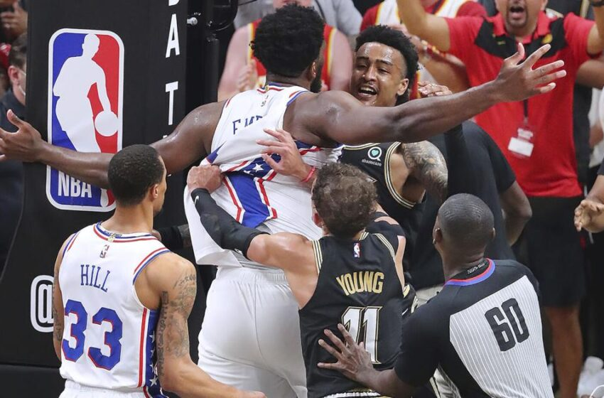 NBA fines 76ers' Embiid $35,000 for Recreation 6 altercation