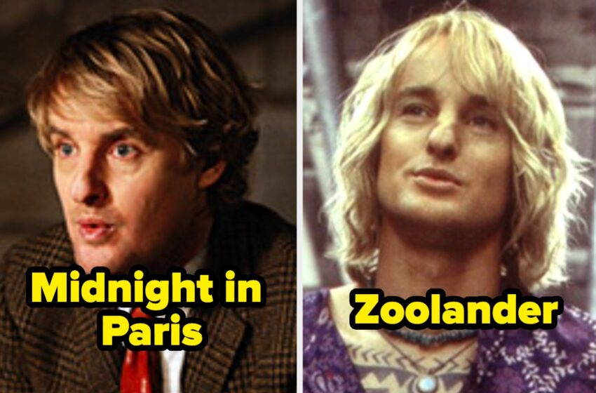 Owen Wilson Has Been In Over 55 Movies And Reveals — Hiss Us Which Ones That that you just may perhaps need Truly Seen