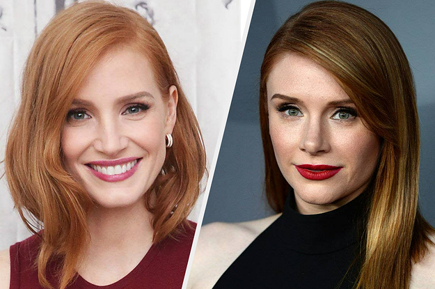 Jessica Chastain Posted A Hilarious TikTok Asking People To End Comparing Her To Bryce Dallas Howard