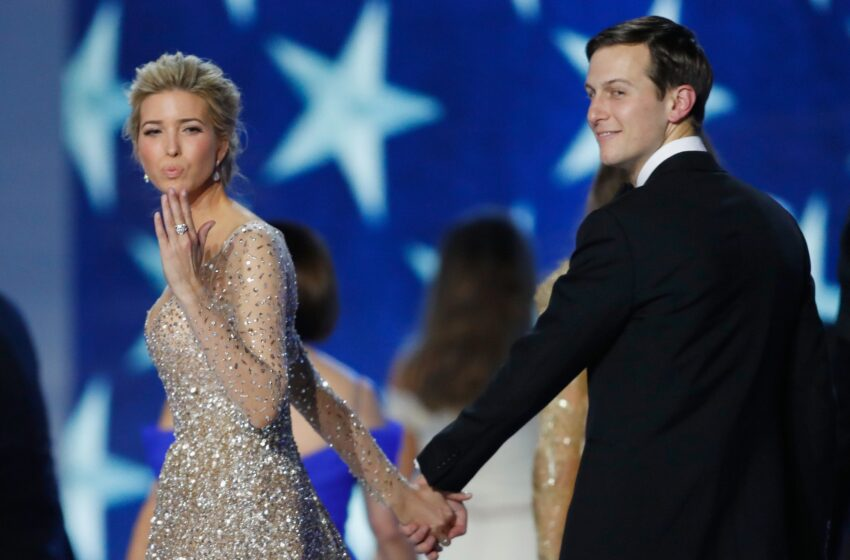 Jared and Ivanka Think They Can Salvage Their Reputations by Pretending to Desire Nothing to Cease With Trump