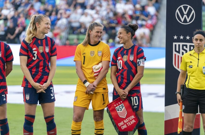 The USWNT's Olympic Schedule Is a Sophisticated One