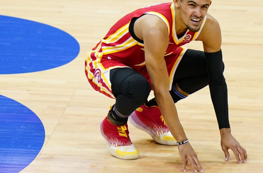 Hawks' Trae Young to Win MRI on Ankle Wound; Plans to Play in Sport 4 vs. Bucks