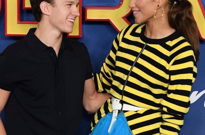 Zendaya and Tom Holland Verify Romance With Steamy Makeout Session