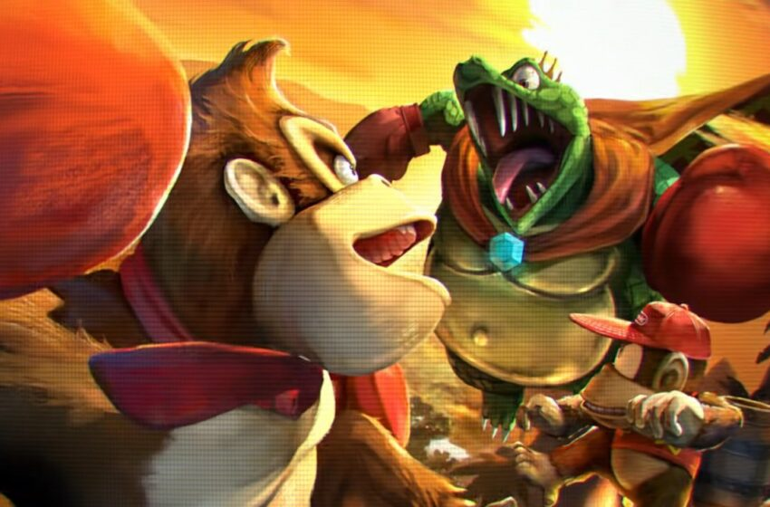 Rumour: There's Supposedly A Fresh Donkey Kong Animation In Articulate