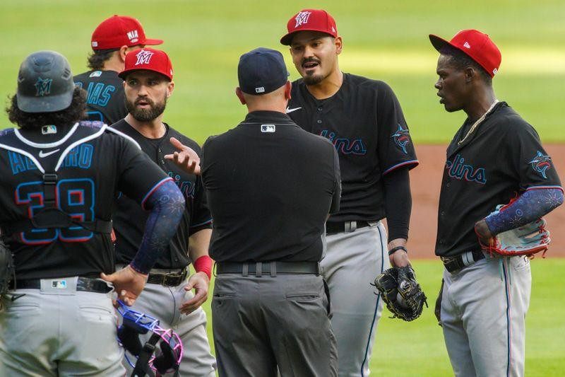 MLB roundup: HBP leads Braves to 1-0 make a selection over Marlins