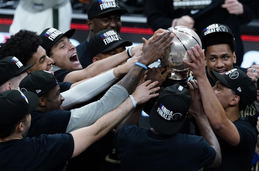 Bucks beat Hawks, head to NBA Finals for 1st time since 1974