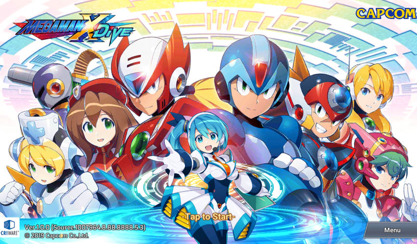 Mega Man X DiVE is out in Android Early Entry and I don't entirely hate it