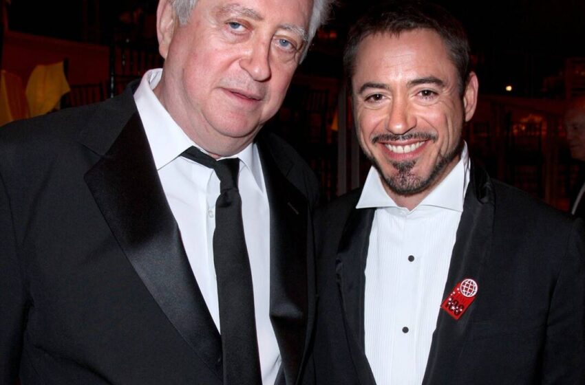 Robert Downey Jr. Mourns the Death of His Father Robert Downey Sr.