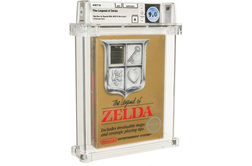 This Extremely-Uncommon Reproduction Of The Normal NES Zelda Moral Sold For $870,000