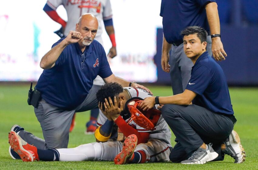 Atlanta Braves superstar Ronald Acuña Jr. can have season-ending surgical plot after tearing ACL