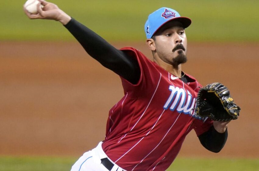 Marlins' López devices MLB tag with 9 strikeouts to start game