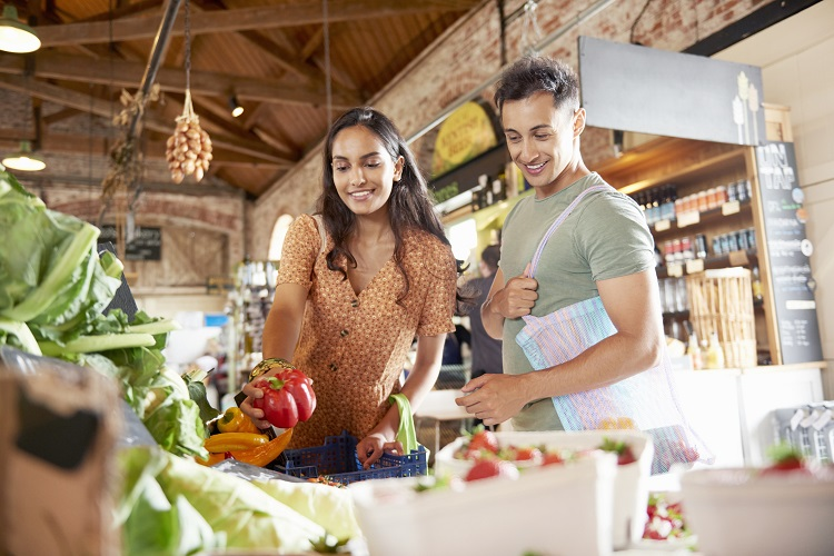 How can customers be empowered to eat wholesome and sustainable foods?